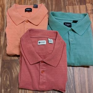 SAVINGS BUNDLE!! 3 POLO HAGGAR XXL